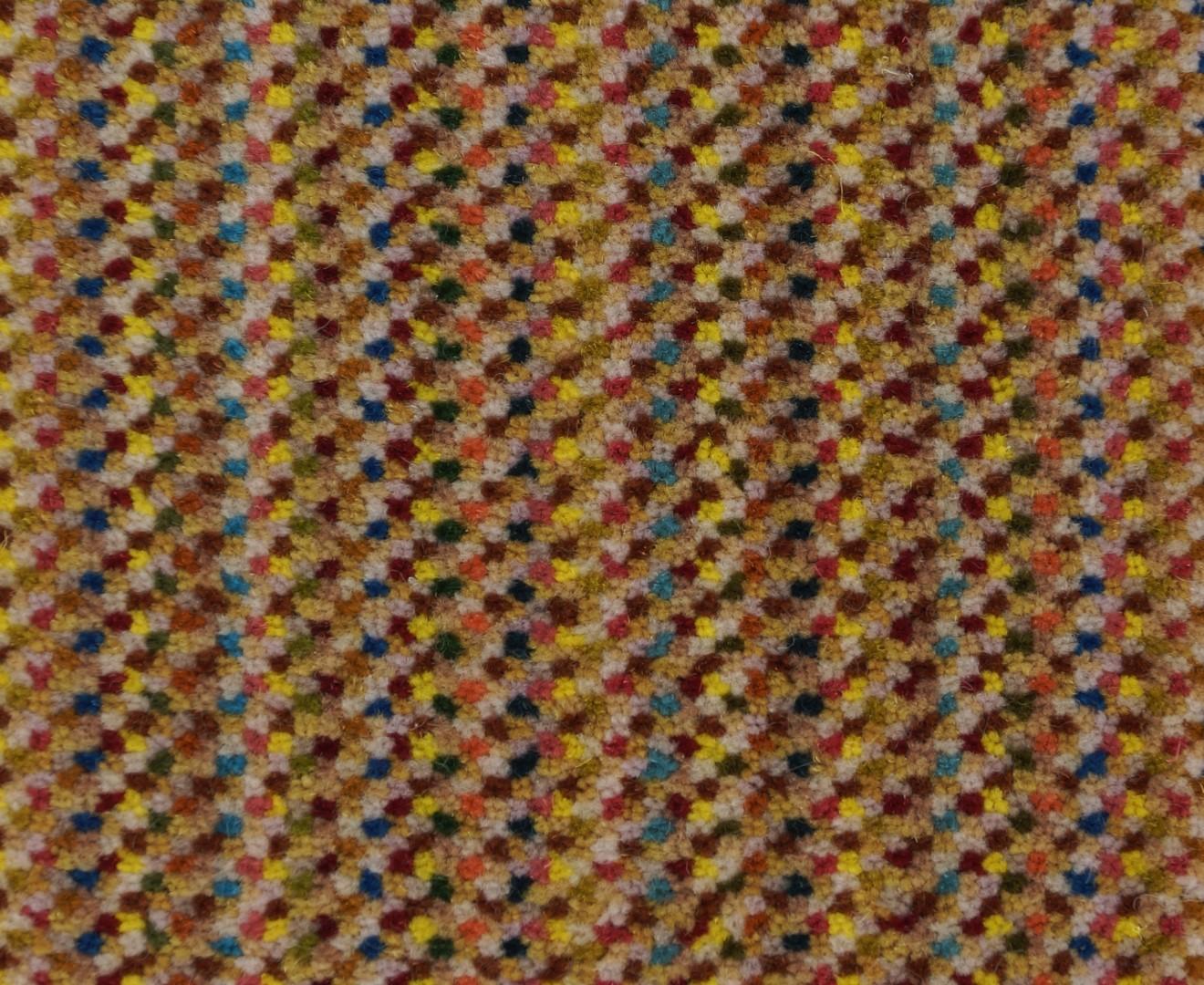 Moquette tiss e 100 laine unie structur e ray e milpoints coup miel collection textile for Moquette rayee