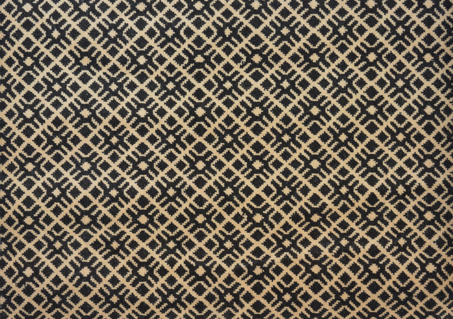 moquette tiss e 100 laine motif graphique croisillons beige collection textile moquettes. Black Bedroom Furniture Sets. Home Design Ideas