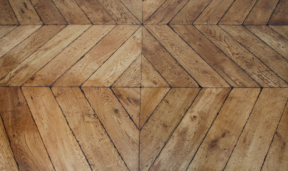 Parquet vieilli d coratif traditionnel point de hongrie collection bois - Parquet point de hongrie prix ...